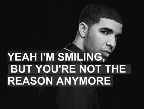Smiling quote by Drake