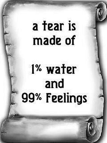 Tear feelings quotes