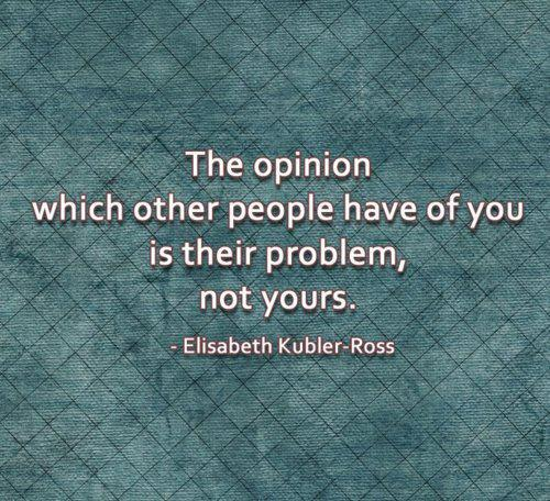 The Opinion Quote