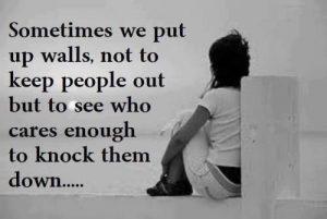 Putting Up Walls