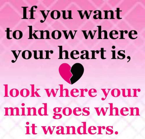 Where is my heart - cool quote