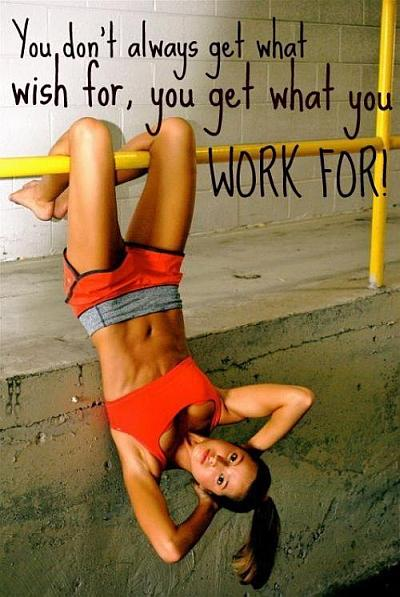 Work for it quote