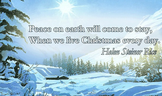 peace on earth - christmas quote.png