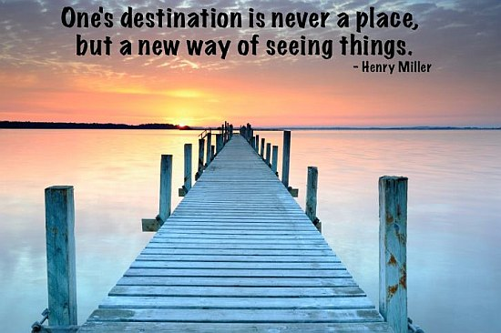 One's Destination Is Never A Place