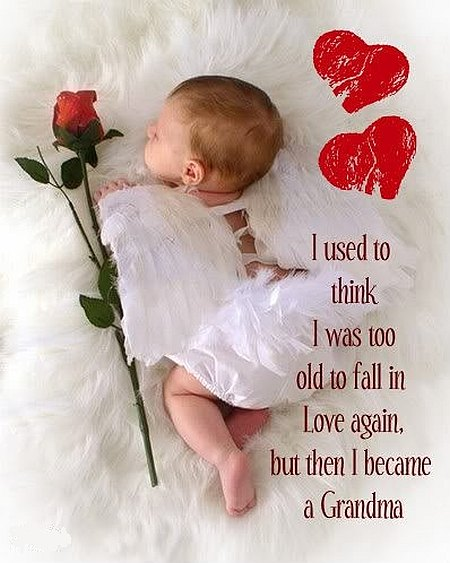 Grandma love baby quote
