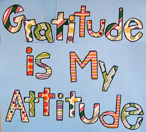 Gratitude Attitude Quote