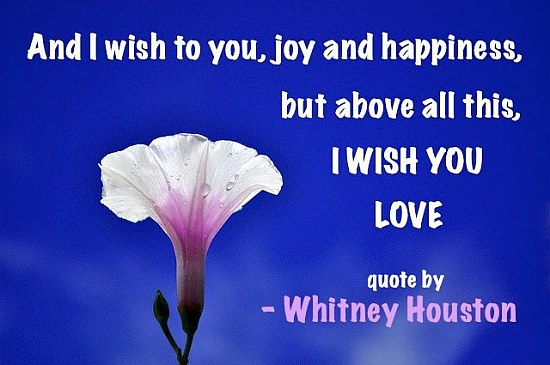 And I Wish To You, Joy and Happiness