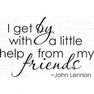 Little Help From My Friends