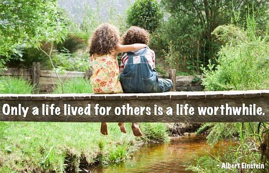 Living for others quote