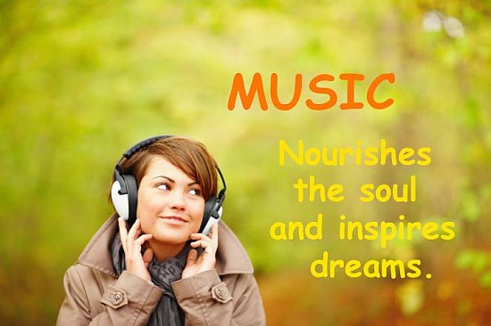 Music Nourishses The Soul