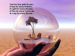 God Has Four Gifts For You