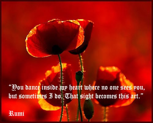 Dance Art by Rumi quote