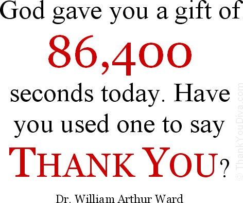 God gift quote