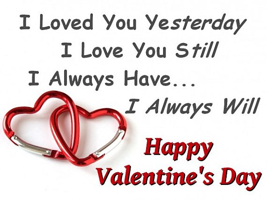 Happy Valentines Day Quote