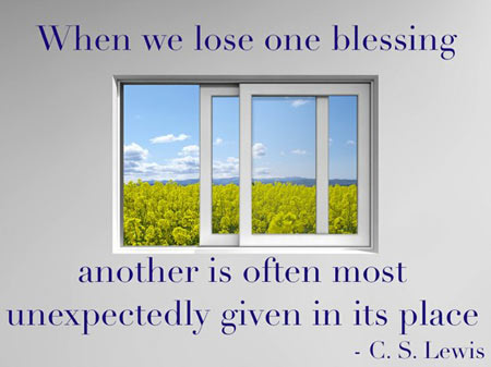 When We Lose One Blessing