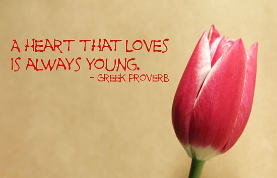 Love Quote Greek Proverb