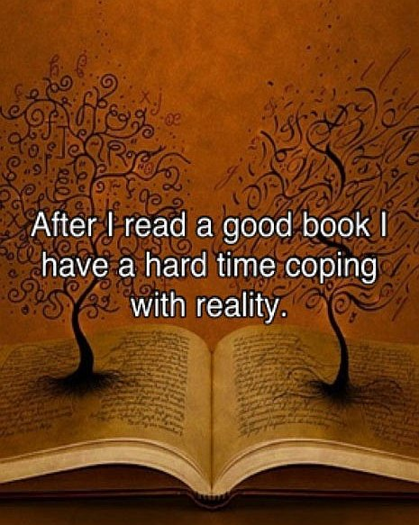 After I Read A Good Book