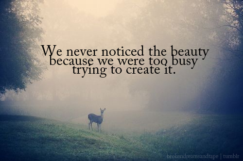 the beauty of nature quote picture