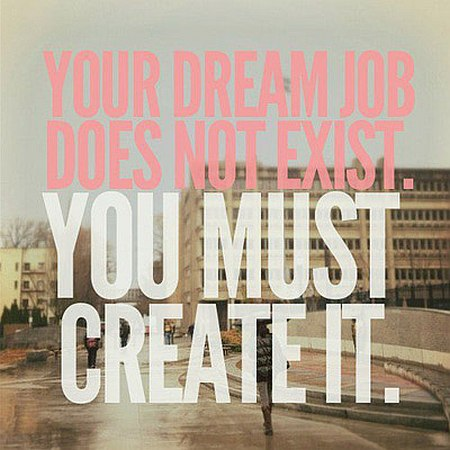 Dream job quote