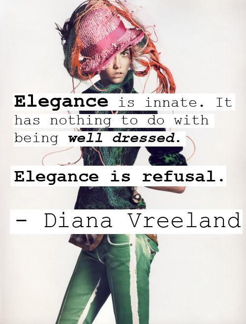Elegance quote