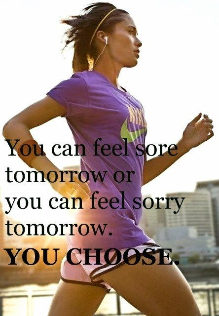 Feel sore or sorry