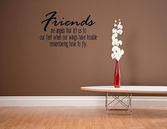 friends are for us quote