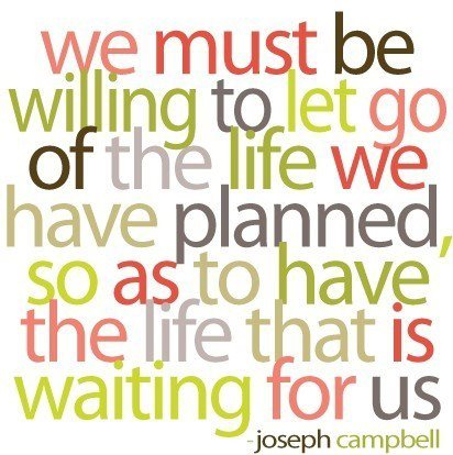 Life is waiting for us quote