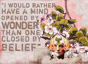 I Would Rather Have A Mind Opened
