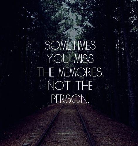 Missing memories quote