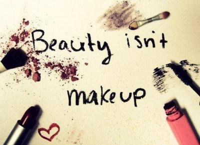 Beauty Isn't Make Up
