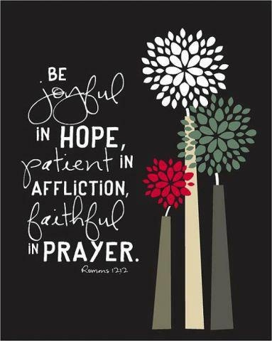 be joyful in hope quote