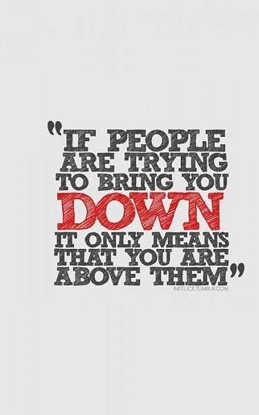 People Down Quote