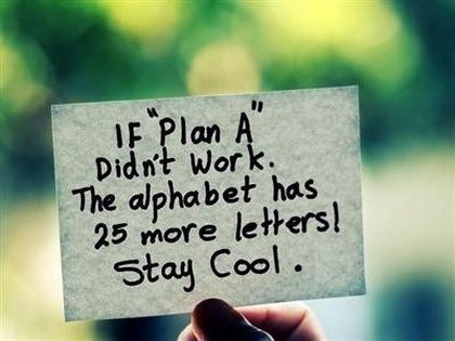 plan a funny quote