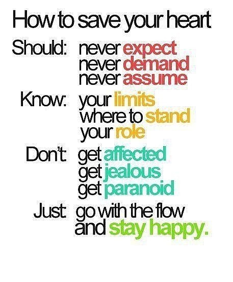 Stay happy quote