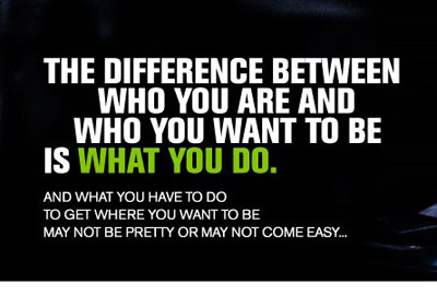 The Difference Between Who You Are And Who You Want To Be