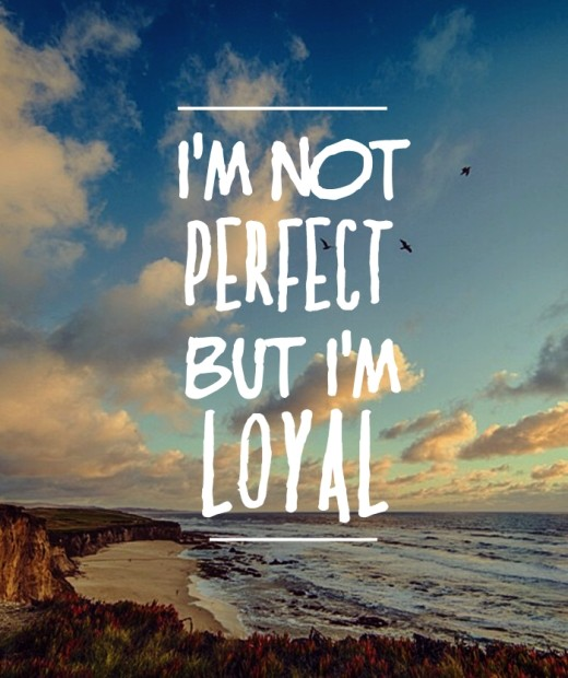 i'm not perfect quote