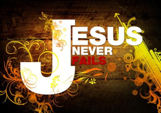 jesus never fails quote