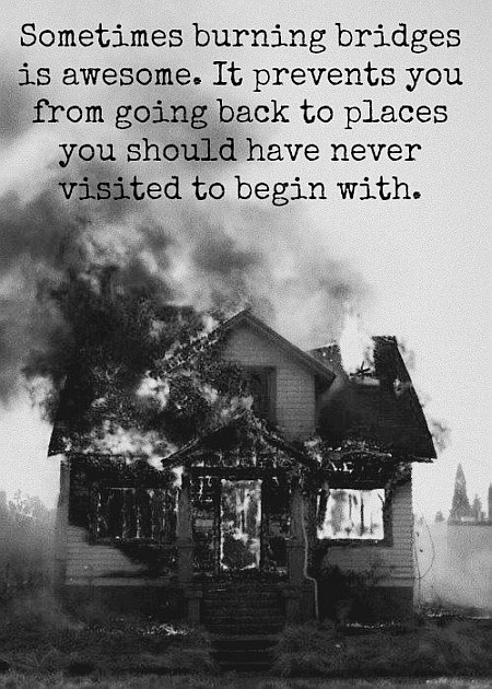 burning places quote