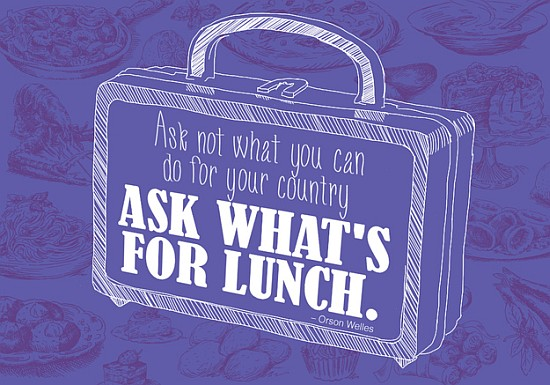 country lunch quote