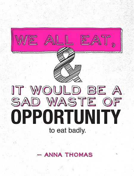 eat opportunity quote