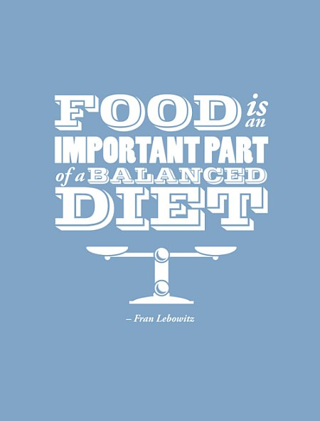 food diet quote