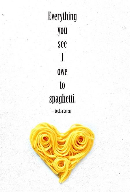 spaghetti quote