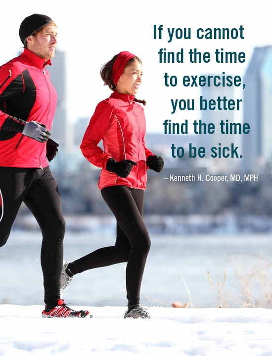 If You Can't Find The Time To Exercise