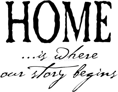 Our Story Begins at Home