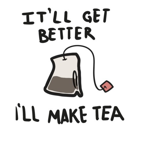 i will make tea quote