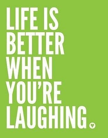 life laughing quote