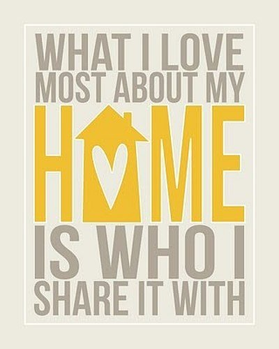Quotes On Home Impressive What I Love Most About My Home  Quote Picture
