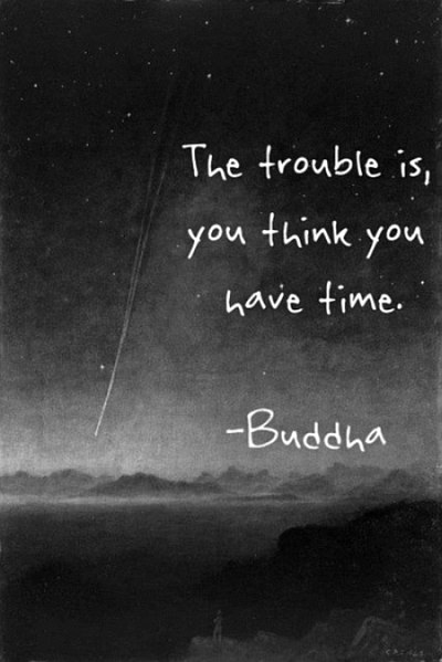 Buddha Quotes Time