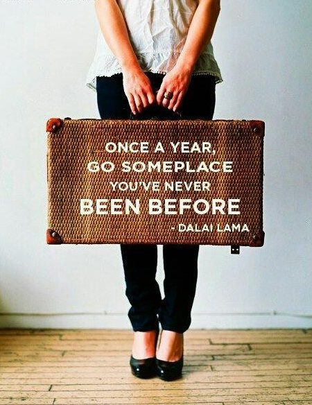 Travel Quote Dalai Lama