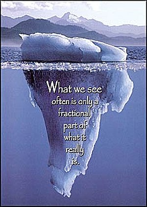 what we see life quote